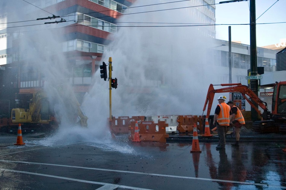 Burst Water Main 3