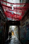 Alley Knitting 1