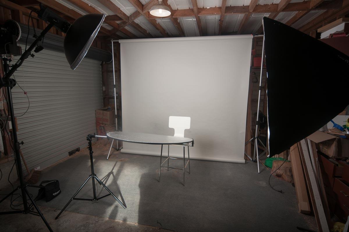 Garage studio darkhalide photography for Garage with studio